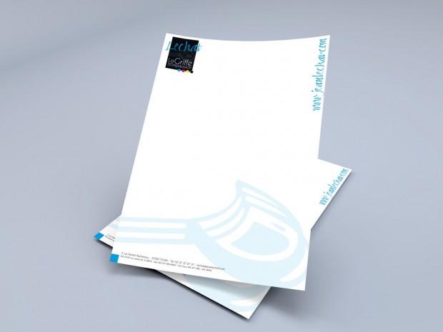 Imprimez votre papier en-tête avec Lechat Boutique