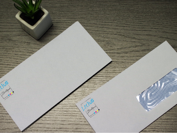 Enveloppe - 110x220mm - Lechat Impressions